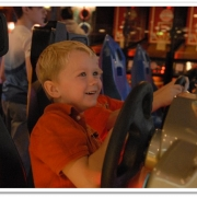 Happy at Arcade